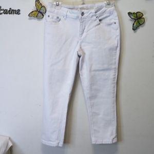 Est 1946 women's cropped jeans  Sz 4